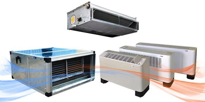فن کویل GLسقفی توکار به ظرفیت 8۰۰ CFM
